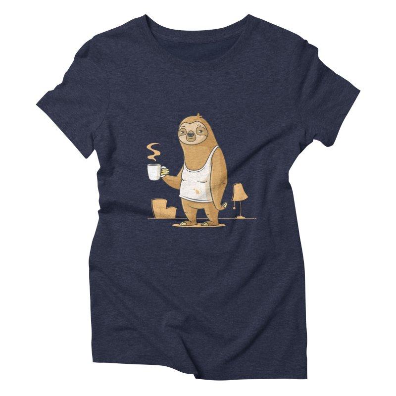 Monday Morning Depresso Women's Triblend T-Shirt by zoljo's Artist Shop