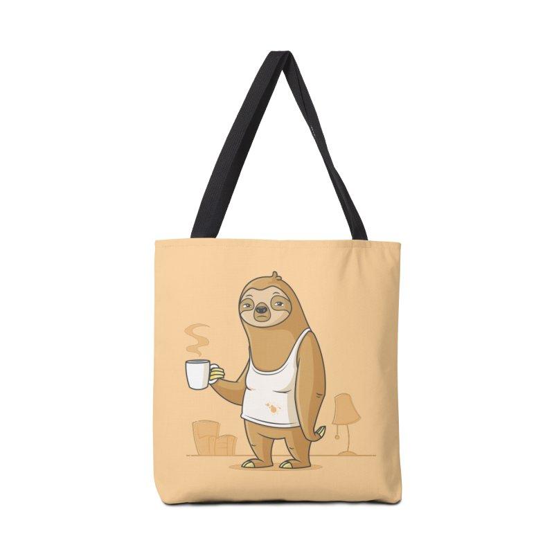 Monday Morning Depresso Accessories Bag by zoljo's Artist Shop