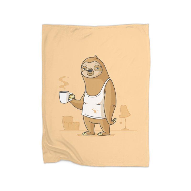 Monday Morning Depresso Home Blanket by zoljo's Artist Shop
