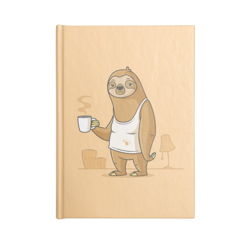 Monday Morning Depresso Accessories Notebook by zoljo's Artist Shop
