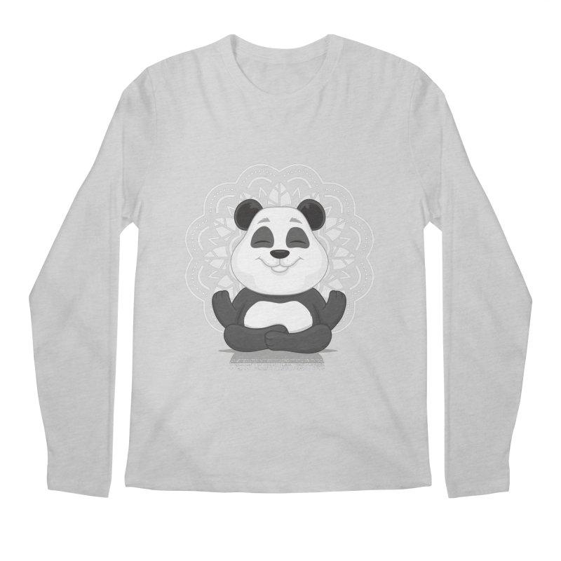 NAMASTE Men's Longsleeve T-Shirt by zoljo's Artist Shop