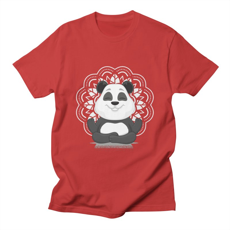 NAMASTE Men's T-Shirt by zoljo's Artist Shop