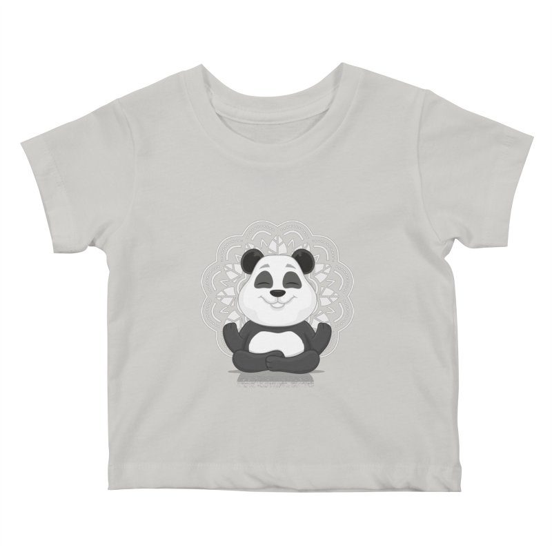 NAMASTE Kids Baby T-Shirt by zoljo's Artist Shop