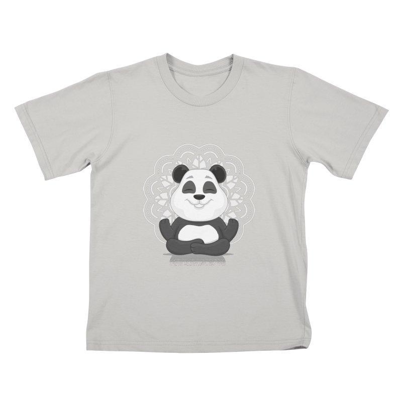 NAMASTE Kids T-Shirt by zoljo's Artist Shop