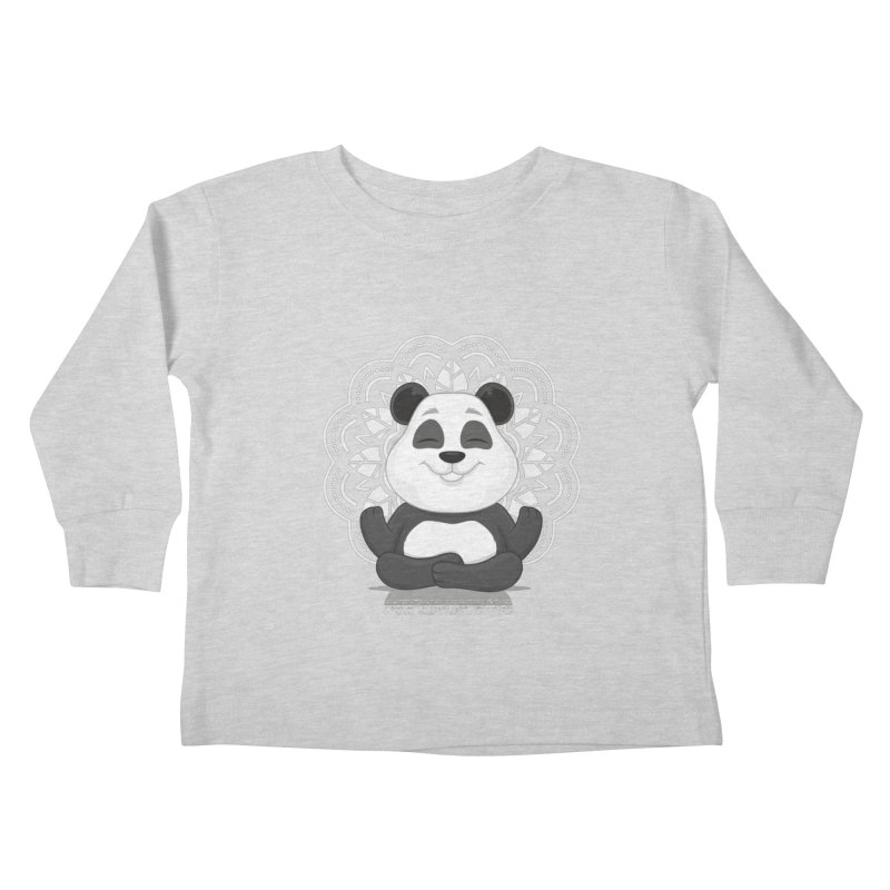 NAMASTE Kids Toddler Longsleeve T-Shirt by zoljo's Artist Shop