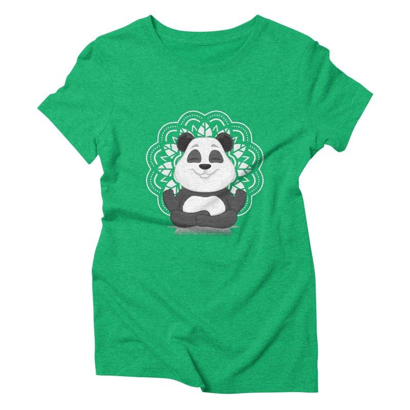 NAMASTE Women's Triblend T-Shirt by zoljo's Artist Shop