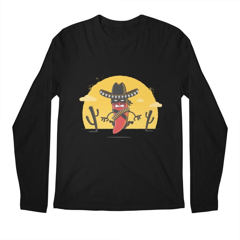 Chili Desperado Men's Longsleeve T-Shirt by zoljo's Artist Shop