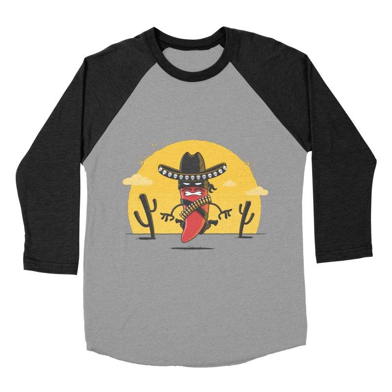 Chili Desperado Women's Baseball Triblend T-Shirt by zoljo's Artist Shop