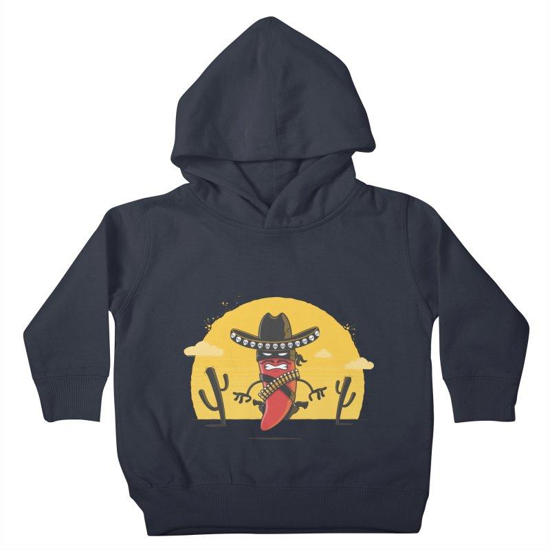 Chili Desperado Kids Toddler Pullover Hoody by zoljo's Artist Shop