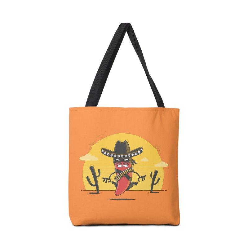 Chili Desperado Accessories Bag by zoljo's Artist Shop