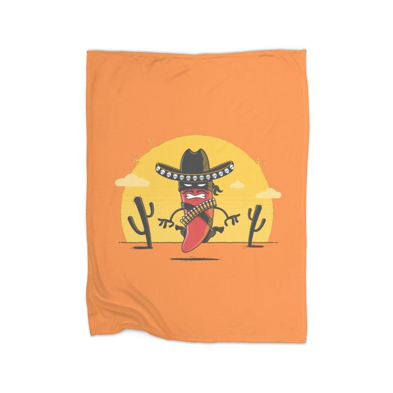 Chili Desperado Home Blanket by zoljo's Artist Shop