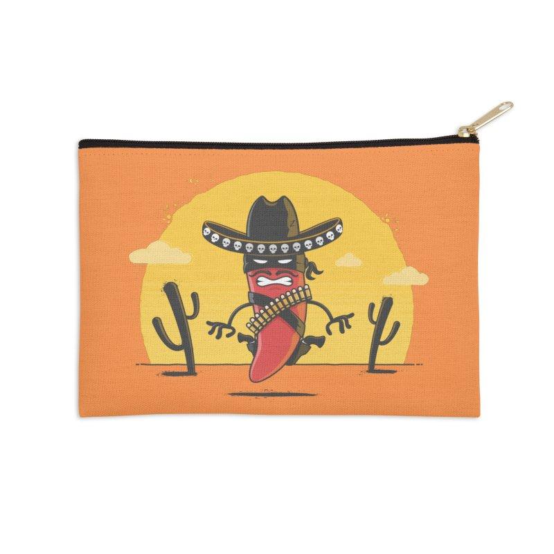 Chili Desperado Accessories Zip Pouch by zoljo's Artist Shop