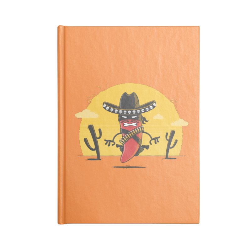 Chili Desperado Accessories Notebook by zoljo's Artist Shop