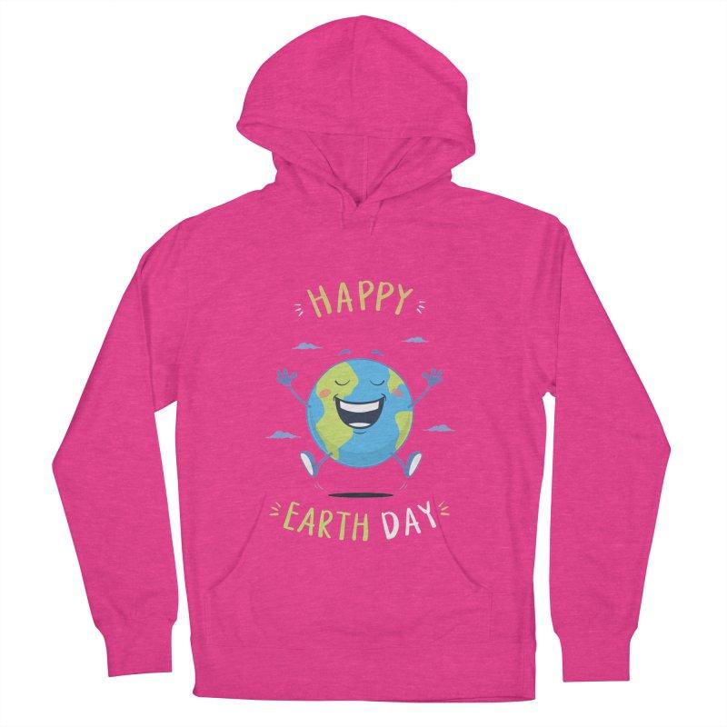 Happy Earth Day Men's Pullover Hoody by zoljo's Artist Shop
