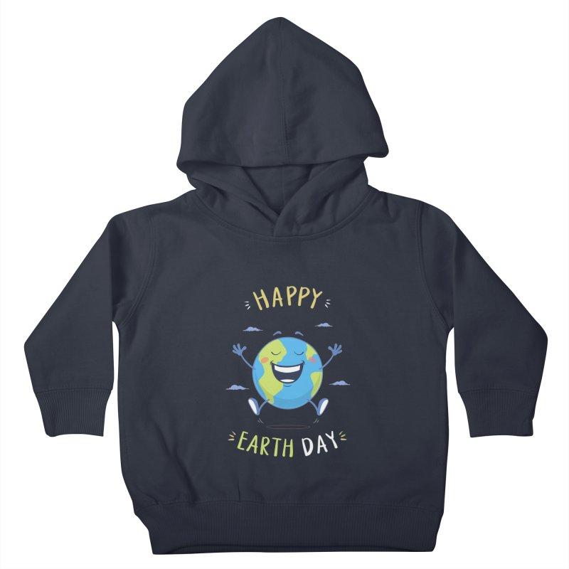 Happy Earth Day Kids Toddler Pullover Hoody by zoljo's Artist Shop