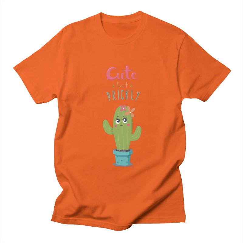 Cute But Prickly Men's T-Shirt by zoljo's Artist Shop
