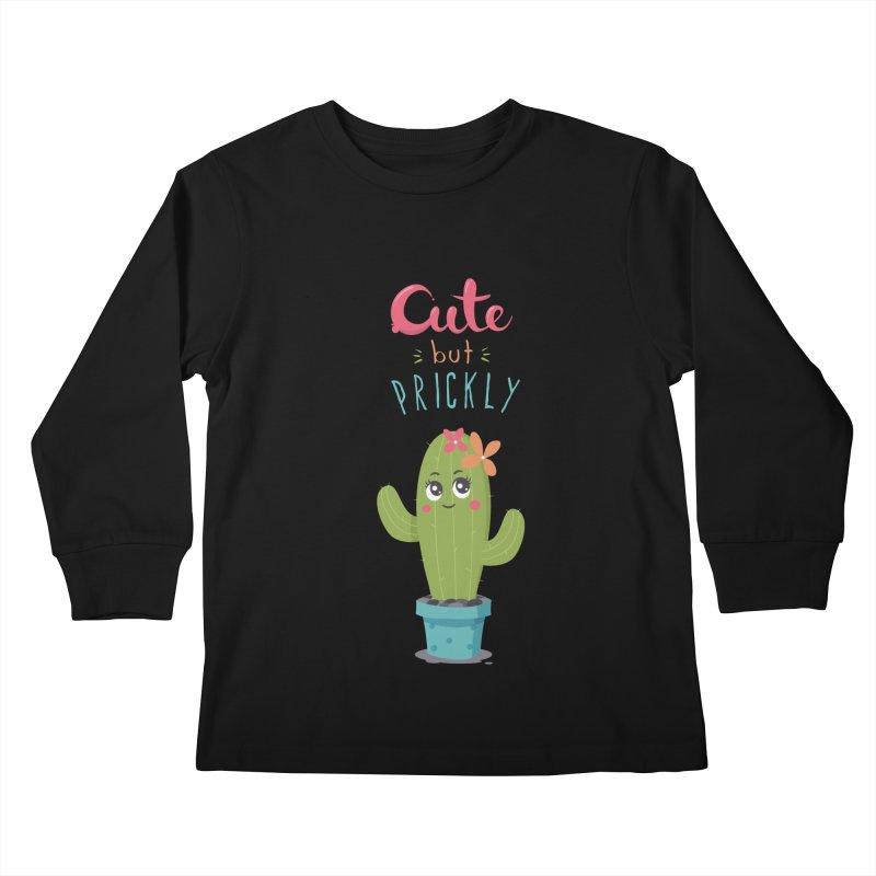 Cute But Prickly Kids Longsleeve T-Shirt by zoljo's Artist Shop
