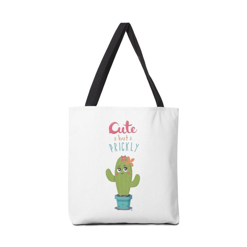 Cute But Prickly Accessories Bag by zoljo's Artist Shop