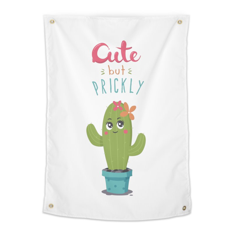 Cute But Prickly Home Tapestry by zoljo's Artist Shop