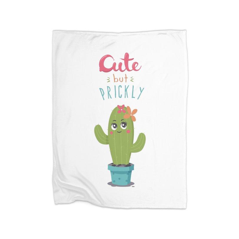 Cute But Prickly Home Blanket by zoljo's Artist Shop