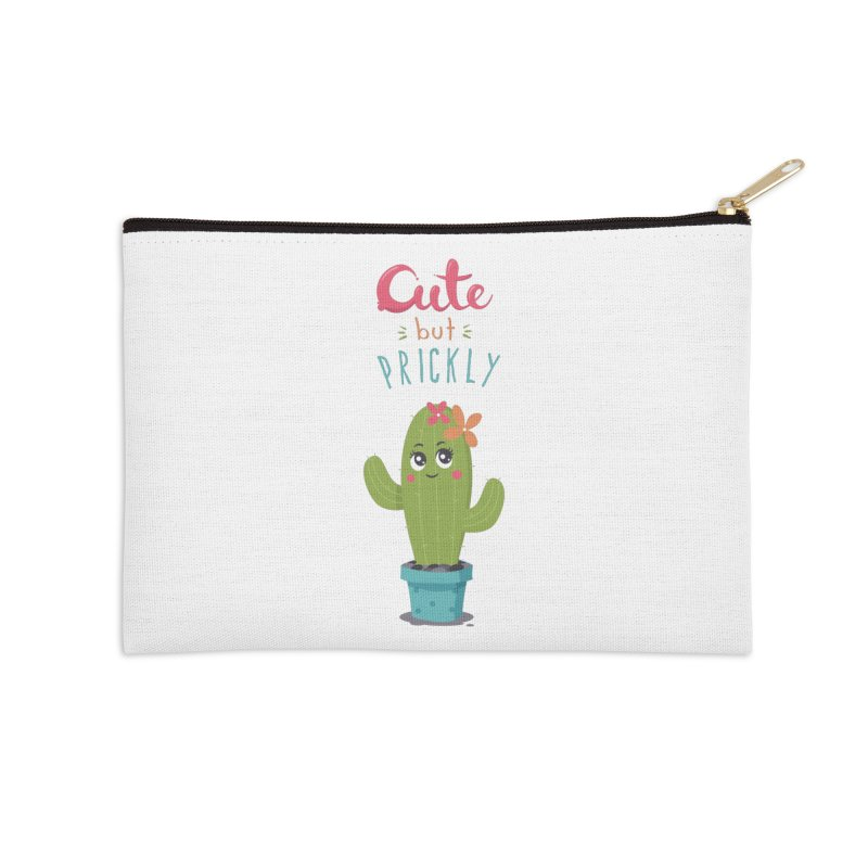 Cute But Prickly Accessories Zip Pouch by zoljo's Artist Shop