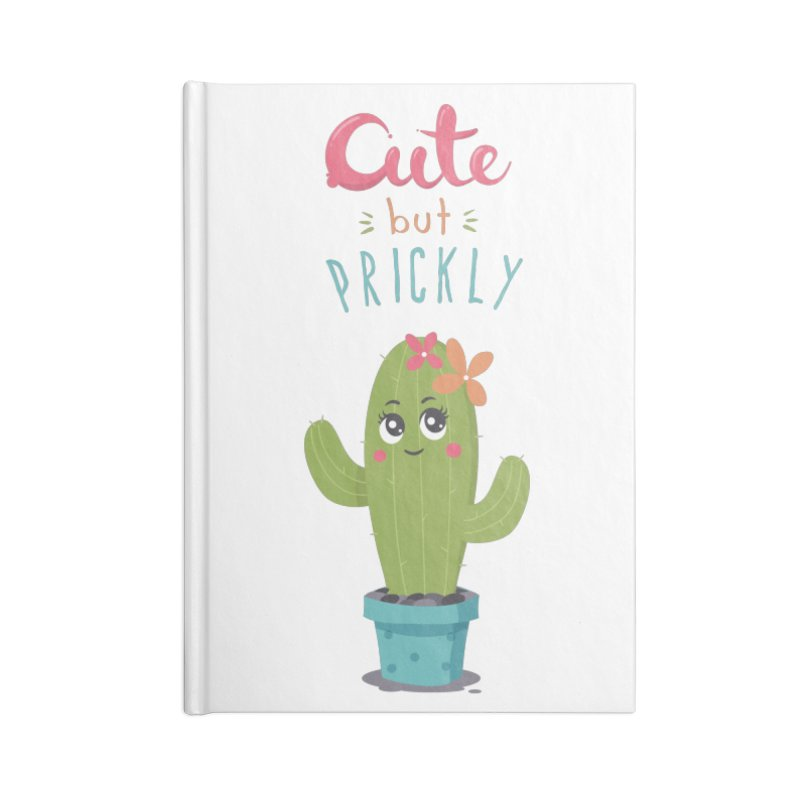 Cute But Prickly Accessories Notebook by zoljo's Artist Shop