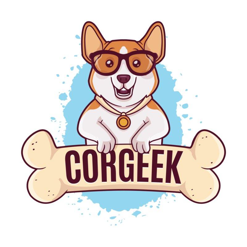 Corgeek by zoljo's Artist Shop