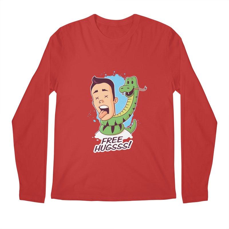 Free Hugs Men's Longsleeve T-Shirt by zoljo's Artist Shop