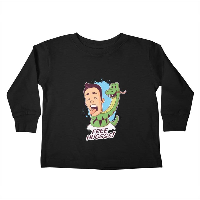 Free Hugs Kids Toddler Longsleeve T-Shirt by zoljo's Artist Shop