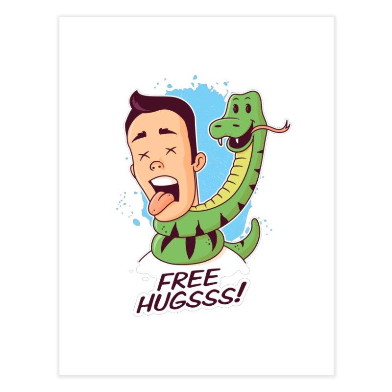 Free Hugs Home Fine Art Print by zoljo's Artist Shop