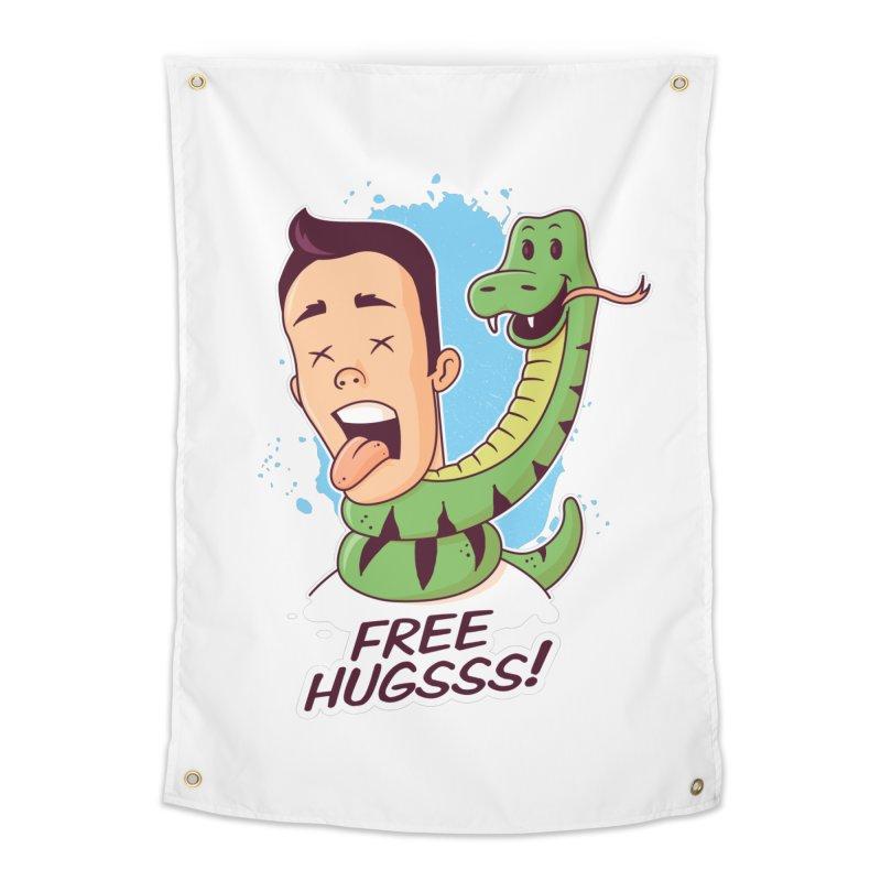 Free Hugs Home Tapestry by zoljo's Artist Shop