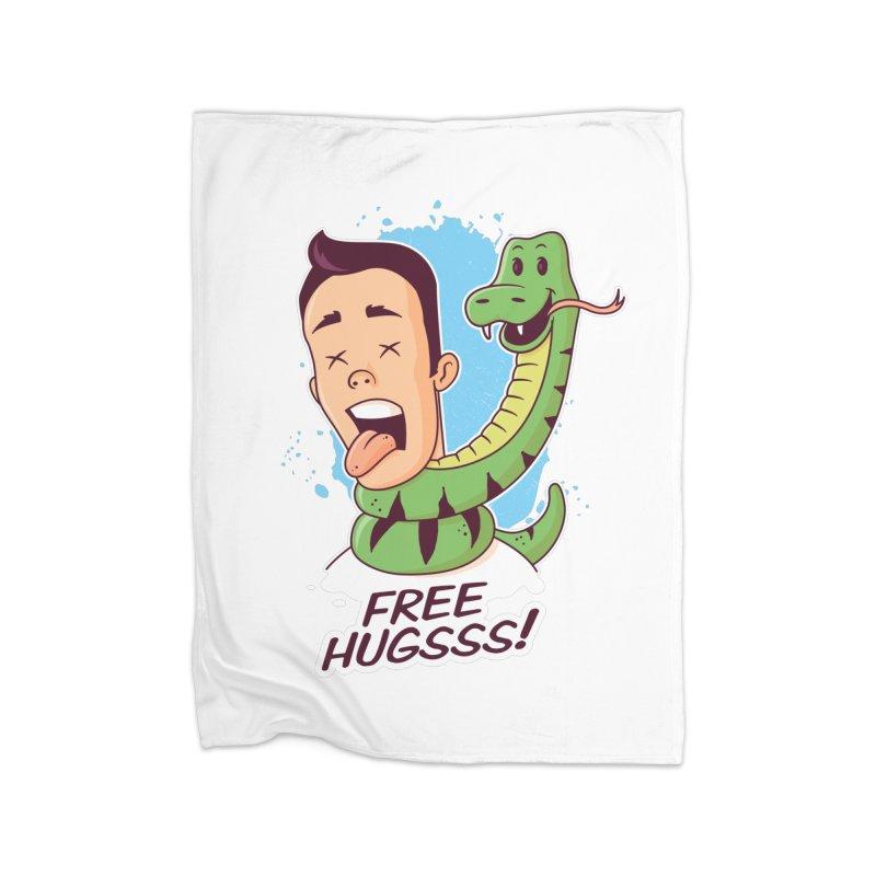 Free Hugs Home Blanket by zoljo's Artist Shop