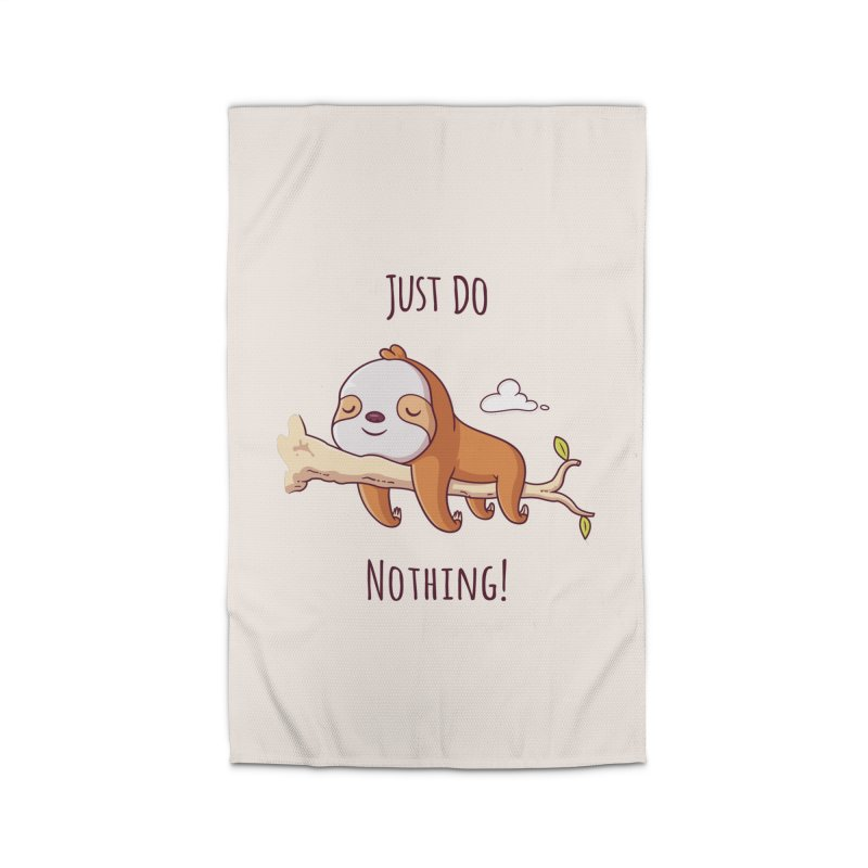 Just Do Nothing! Home Rug by zoljo's Artist Shop