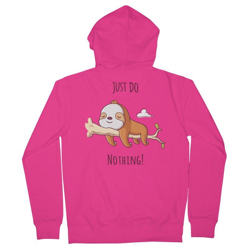 Just Do Nothing! Men's Zip-Up Hoody by zoljo's Artist Shop