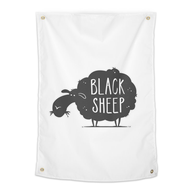 Black Sheep Home Tapestry by zoljo's Artist Shop