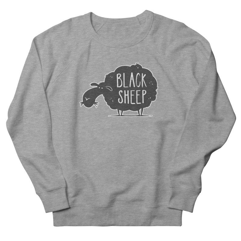 Black Sheep Men's Sweatshirt by zoljo's Artist Shop