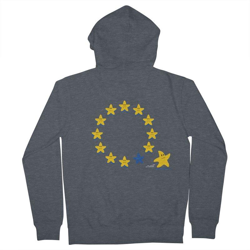 Brexit Men's Zip-Up Hoody by zoljo's Artist Shop
