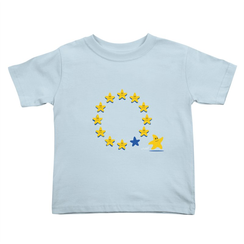 Brexit Kids Toddler T-Shirt by zoljo's Artist Shop