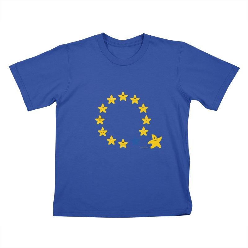 Brexit Kids T-shirt by zoljo's Artist Shop