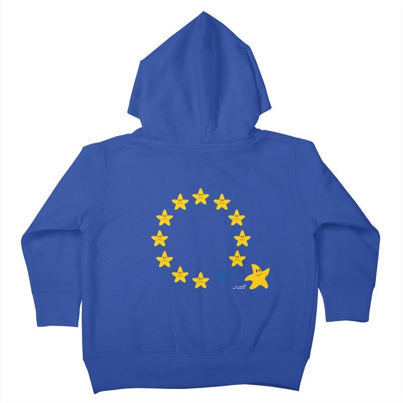 Brexit Kids Toddler Zip-Up Hoody by zoljo's Artist Shop