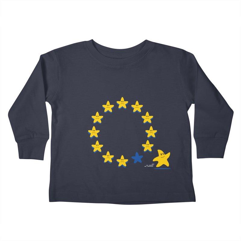 Brexit Kids Toddler Longsleeve T-Shirt by zoljo's Artist Shop