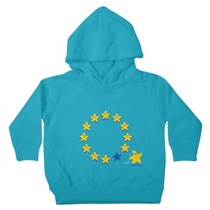 Brexit Kids Toddler Pullover Hoody by zoljo's Artist Shop