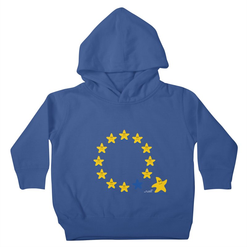 Brexit Kids Toddler Pullover Hoody by zoljo's Artist Shop