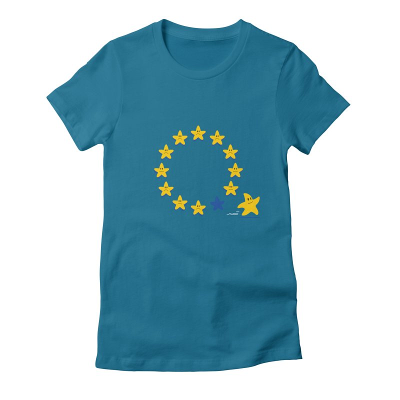Brexit Women's Fitted T-Shirt by zoljo's Artist Shop