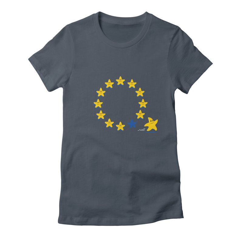 Brexit Women's Fitted T-Shirt by zoljo's Artist Shop