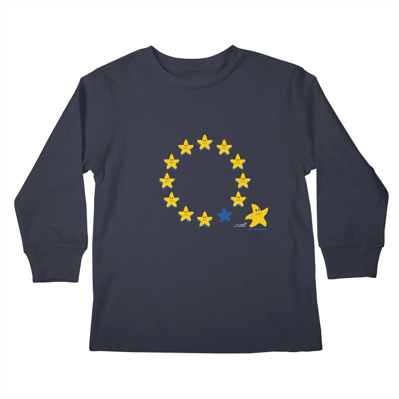 Brexit Kids Longsleeve T-Shirt by zoljo's Artist Shop