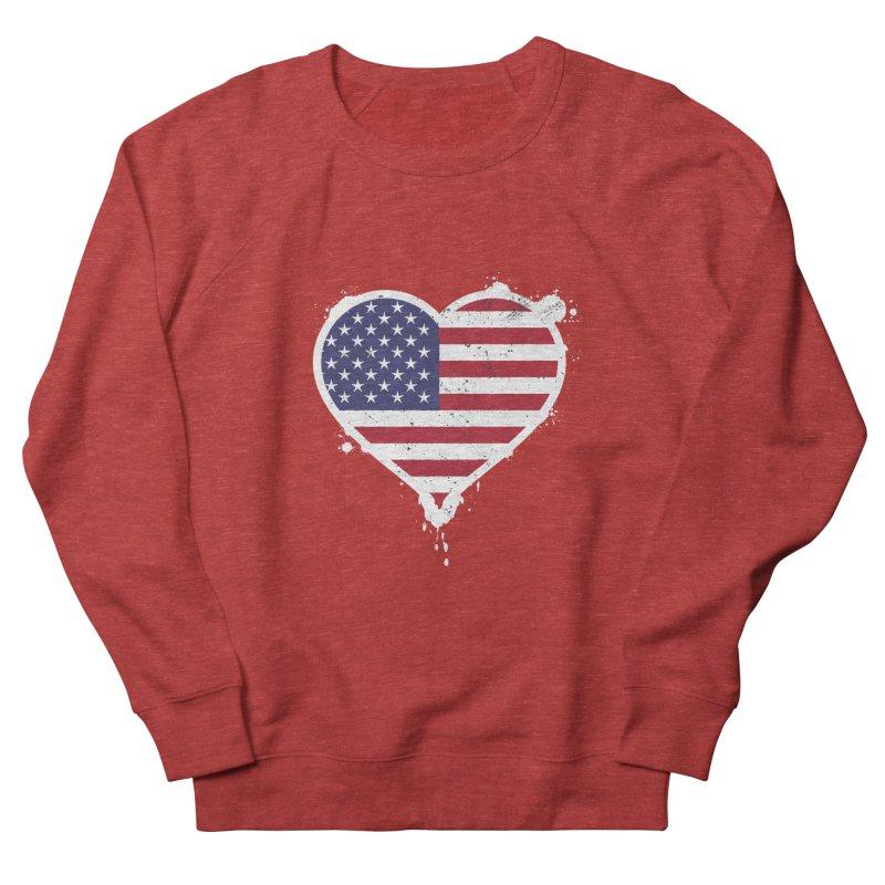USA Love Men's Sweatshirt by zoljo's Artist Shop