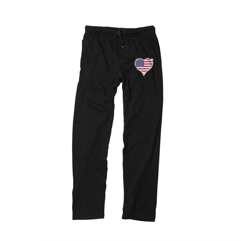 USA Love Men's Lounge Pants by zoljo's Artist Shop