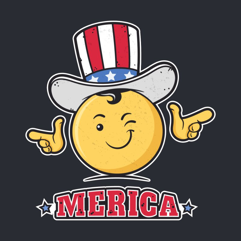 Uncle Sam Smiley Emoticon Merica by zoljo's Artist Shop