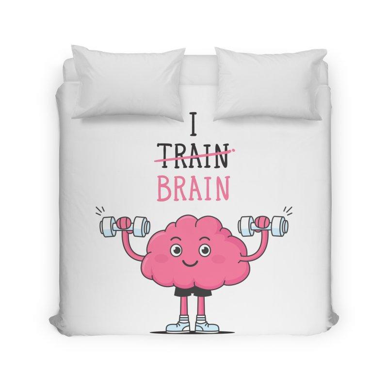 I Train Brain Home Duvet by zoljo's Artist Shop